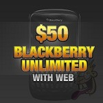$50 Blackberry Unlimited with Web