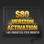 Verizon Activation: $80.00 YEARLY